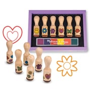Melissa & Doug® Happy Handle Stamp Set, Assorted (LCI2407)