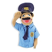 Melissa & Doug® People Puppets, Police Officer