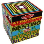 Melissa & Doug® Alphabet Nesting & Stacking Blocks
