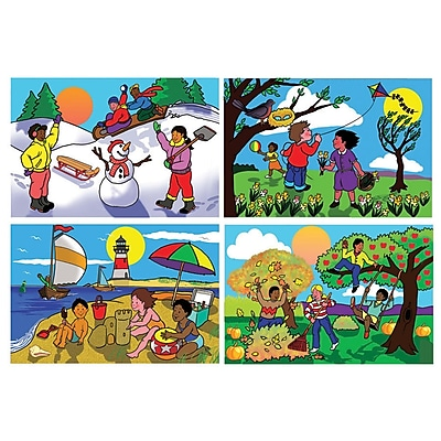 Melissa & Doug® Seasons Floor Puzzle