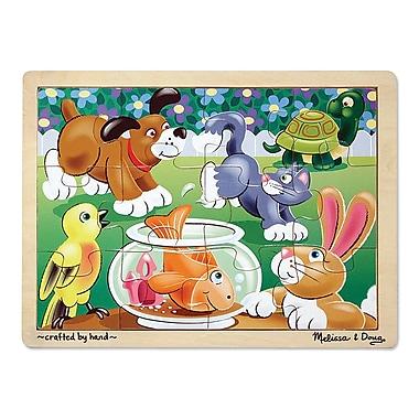 Melissa & Doug Playful Pets Jigsaw Puzzle (2932)