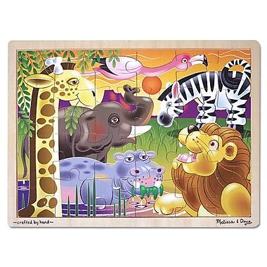 Melissa & Doug African Plains Jigsaw Puzzle (LCI2937)