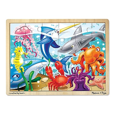Melissa & Doug Under The Sea Jigsaw Puzzle (LCI2938)