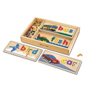 "Melissa & Doug® ""See & Spell"" Learning Toy, Spelling Skills"