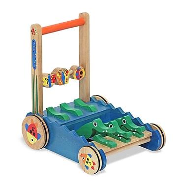 Melissa & Doug® Chomp and Clack Alligator Push Toy
