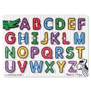 Melissa & Doug® See-Inside Alphabet Peg Puzzle