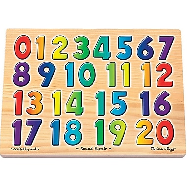 Melissa & Doug® Numbers Sound Puzzle