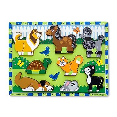 Melissa & Doug Pets Chunky Puzzle (LCI3724)