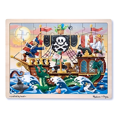 Melissa & Doug Pirate Adventure Jigsaw Puzzle (LCI3800)