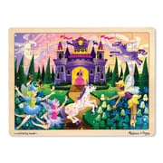 Melissa & Doug® Wooden Jigsaw Puzzles, Fairy Fantasy