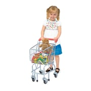Melissa & Doug® Metal Grocery Wagon Shopping Cart Toy