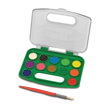 Melissa and Doug - Ensemble de peinture aquarelle portable (LCI4114)