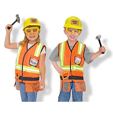 Melissa & DougMD – Ensemble avec costume d'ouvrier de la construction