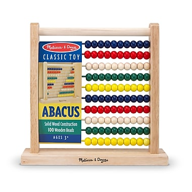 Melissa & Doug® Classic Wooden Abacus Toy, Grades Prek - 4