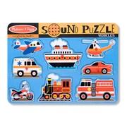 Melissa & Doug® Vehicles Sound Puzzle (LCI725)