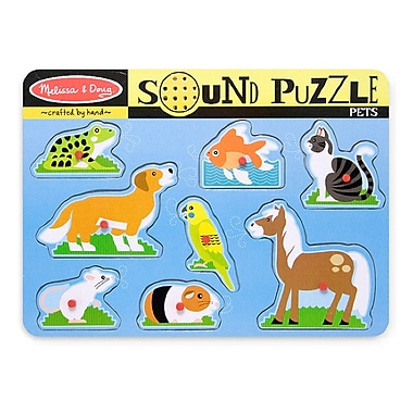 Melissa & Doug Pets Sound Puzzle (LCI730)