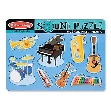 Melissa & Doug Musical Instruments Sound Puzzle (LCI732)