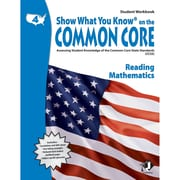 Milliken Lorenz – Livre « Show What You Know On The Common Core Student », 4e année (LEPNA3401)