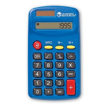 Learning Resources Primary Calculator, 4/Pack (LER0037)