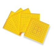 Learning Resources® 11 x 11 Pin Single Sided Geoboard, Grades K - 8