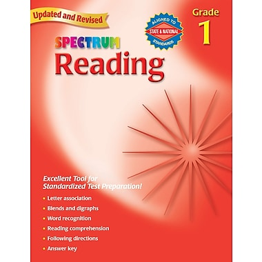 Carson-Dellosa Spectrum Reading Workbook, Grade 1 (CD-704579)
