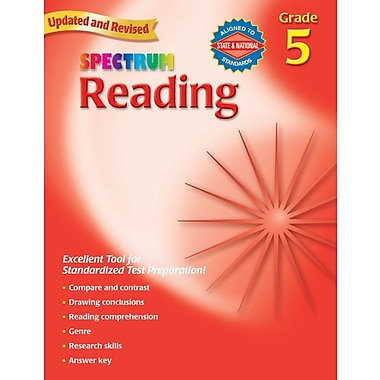 Carson Dellosa Spectrum Reading Workbook, Grade 5 (CD-704583)