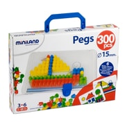 Miniland Educational Pegs & Patterns Set, Grades Toddler - 1