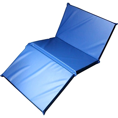Mahar 3-Section Standard Blue Rest Mat, 2