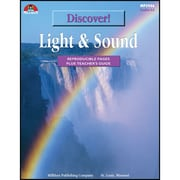 "Milliken Publishing Company® ""Discover: Light and Sound"" Reproducible Book, Grades 4 - 6"