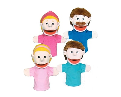 Get Ready Kids® Caucasian Family Puppets