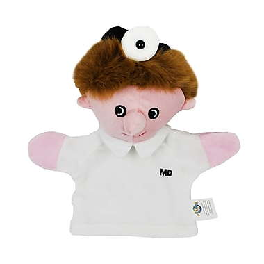 Get Ready Kids® Caucasian Machine Washable Doctor Puppet