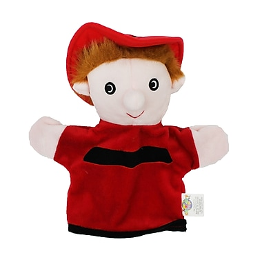 Get Ready Kids® Caucasian Machine Washable Fire Fighter Puppet