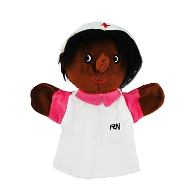 Get Ready Kids® African American Black Nurse Puppet