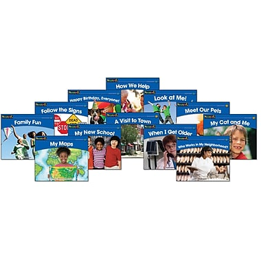 Newmark Learning™ Rising Readers Levelled Social Studies Book Set, Grades PreK - 1