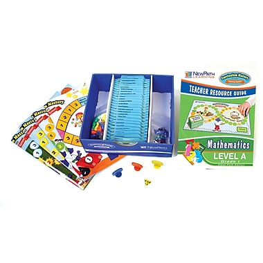 New Path Learning Mastering Math Skills Games Classpack, Grade 1 (NP-231001)