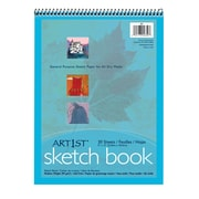 "Pacon® Art1st® 9"" x 12"" Sketch Book, White, 30 Sheets"