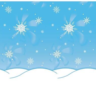 Pacon – Papier Fadeless très résistant à la décoloration, 48 po x 12 pi, saison hivernale, rouleau (PAC56388)