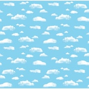 "Pacon® Fadeless® 48"" x 12' Ultra Fade-Resistant Paper, Clouds"