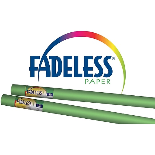 """Pacon® Fadeless® 48"""" x 50' Ultra Fade-Resistant Bulletin Board Paper, Nile Green"""