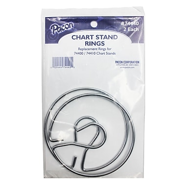 Pacon Chart Stand Rings, 3