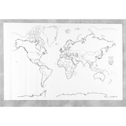 Pacon Corporation Learning Walls World Map (PAC78770)