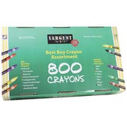 Sargent Art® Best Buy 800 Assortment Standard Crayons