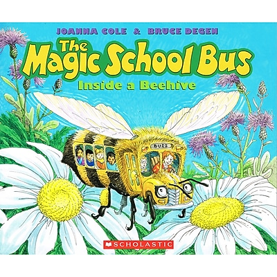 Scholastic Magic School Bus Books, The Magic School Bus Inside a Beehive