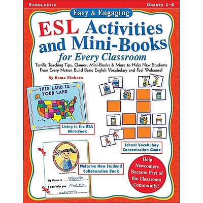 Scholastic® Easy & Engaging ESL Activities and Mini Books For Every Classroom