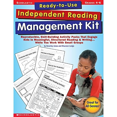 Scholastic – Livre « Ready-To-Use Independent Reading Management Kit », arts du langage/lecture (SC-0439365910)