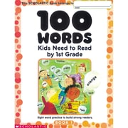"Scholastic® ""100 Words: Kids Need to Read by 1st Grade"" Book, Language Arts/Reading"