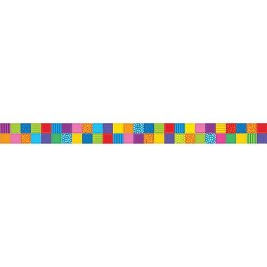 Teacher's Friend® Kindergarten - 5th Straight Trimmer, Patchwork Quilt