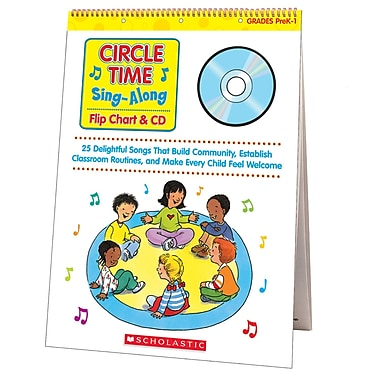Scholastic Circle Time Sing Along Flip Chart with Cd, Music (SC-0439635241)