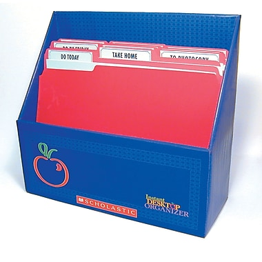 Scholastic Instant Desktop Organizer With Companion Book, Grades K - 8, 2/Set (SC-0439697379)