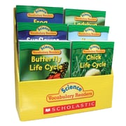 """Scholastic® """"Science Vocabulary Readers: Life Cycles"""" Book Set, Grades 1 - 3"""